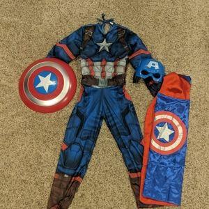 Captain America Costume.